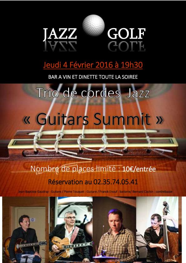 Soirée Guitars Summit le 4 février